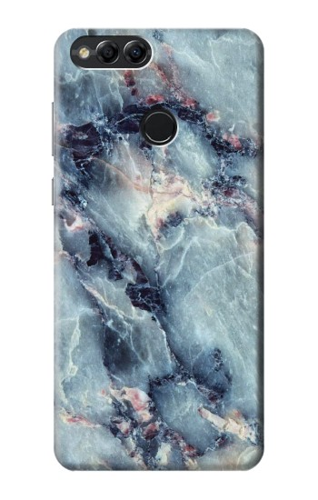 Printed Blue Marble Texture Huawei Honor 7X Case