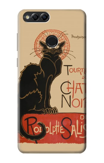 Printed Chat Noir The Black Cat Huawei Honor 7X Case