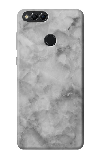 Printed Gray Marble Texture Huawei Honor 7X Case
