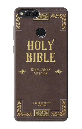 Printed Holy Bible Cover King James Version Huawei Honor 7X Case