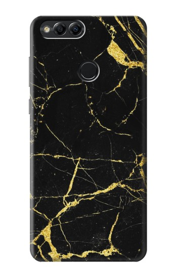 Printed Gold Marble Graphic Printed Huawei Honor 7X Case