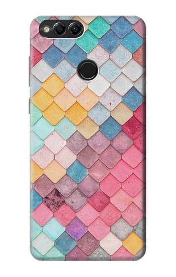 Printed Candy Minimal Pastel Colors Huawei Honor 7X Case