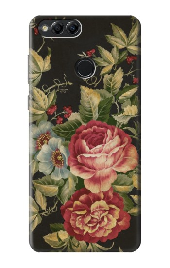 Printed Vintage Antique Roses Huawei Honor 7X Case