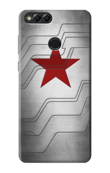 Printed Winter Soldier Bucky Arm Texture Huawei Honor 7X Case