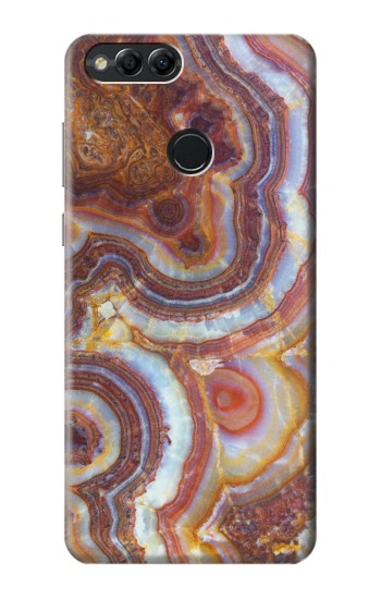 Printed Colored Marble Texture Printed Huawei Honor 7X Case