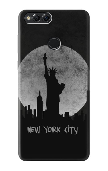 Printed New York City Huawei Honor 7X Case