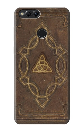 Printed Spell Book Cover Huawei Honor 7X Case
