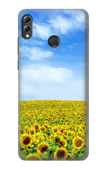 Printed Sunflower Huawei Honor 8X Max Case