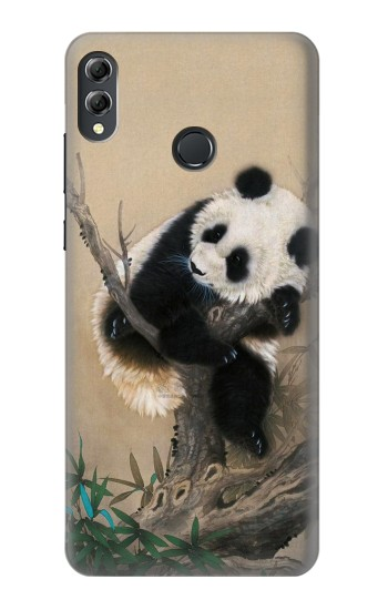Printed Panda Fluffy Art Painting Huawei Honor 8X Max Case