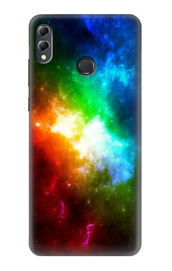 Printed Colorful Rainbow Space Galaxy Huawei Honor 8X Max Case