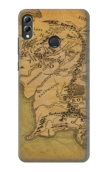 Printed The Lord Of The Rings Middle Earth Map Huawei Honor 8X Max Case