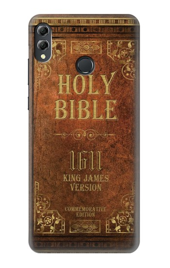 Printed Holy Bible 1611 King James Version Huawei Honor 8X Max Case