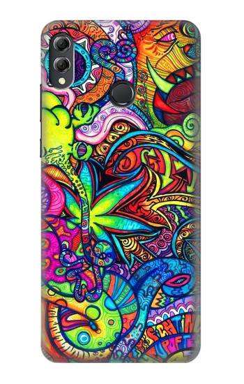 Printed Colorful Art Pattern Huawei Honor 8X Max Case
