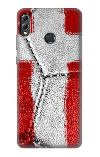 Printed Denmark Flag Vintage Football 2018 Huawei Honor 8X Max Case