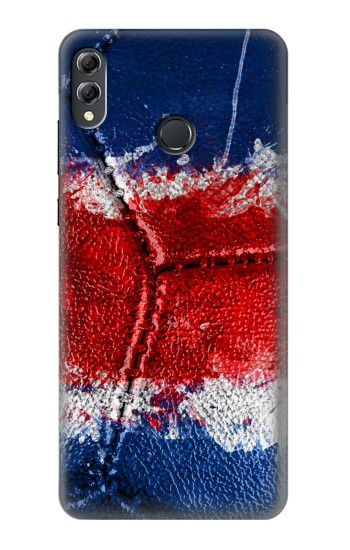 Printed Costa Rica Flag Vintage Football 2018 Huawei Honor 8X Max Case