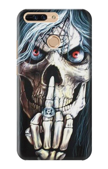 Printed Skull Pentagram Huawei Ascend MATE7 Case