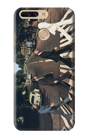 Printed The Beatles Abbey Road Huawei Ascend MATE7 Case