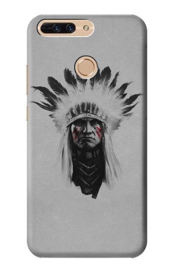 Printed Indian Chief Huawei Ascend MATE7 Case