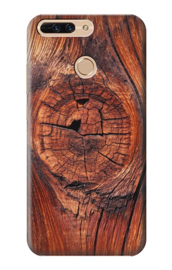 Printed Wood Huawei Ascend MATE7 Case