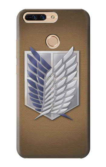 Printed Recon Troops Attack on Titan Huawei Ascend MATE7 Case