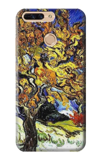 Printed Mulberry Tree Van Gogh Huawei Ascend MATE7 Case