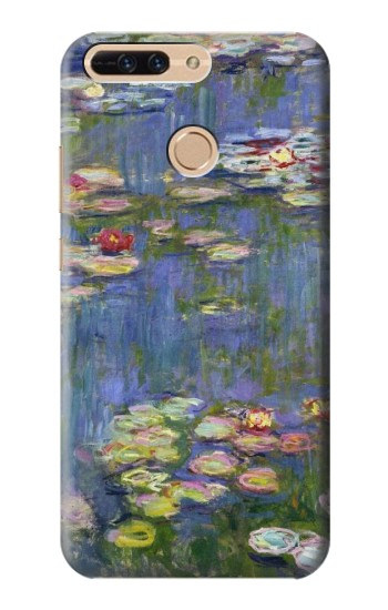 Printed Claude Monet Water Lilies Huawei Ascend MATE7 Case