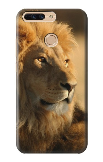 Printed Lion King of Forest Huawei Ascend MATE7 Case