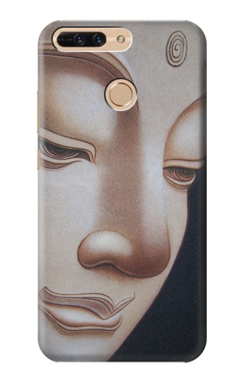 Printed Buddha Face Huawei Ascend MATE7 Case