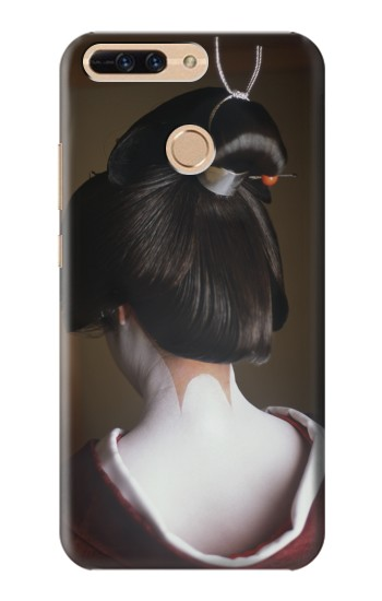 Printed Japan Geisha Neck Huawei Ascend MATE7 Case
