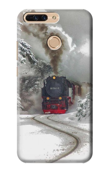 Printed Steam Train Huawei Ascend MATE7 Case