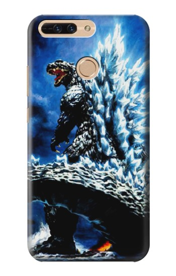 Printed Godzilla Giant Monster Huawei Ascend MATE7 Case