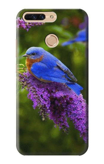 Printed Bluebird of Happiness Blue Bird Huawei Ascend MATE7 Case
