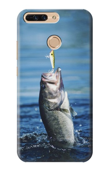 Printed Bass Fishing Huawei Ascend MATE7 Case