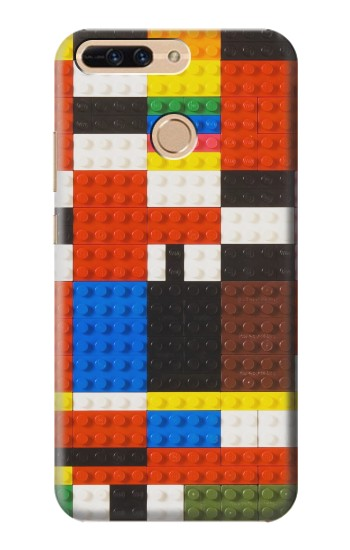 Printed Brick Toy Lego Graphic Printed Huawei Ascend MATE7 Case