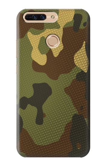 Printed Camo Camouflage Graphic Printed Huawei Ascend MATE7 Case