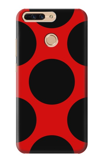 Printed Lady bug Dot Pattern Huawei Ascend MATE7 Case