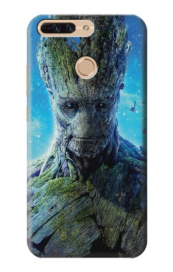 Printed Groot Guardians of the Galaxy Huawei Ascend MATE7 Case