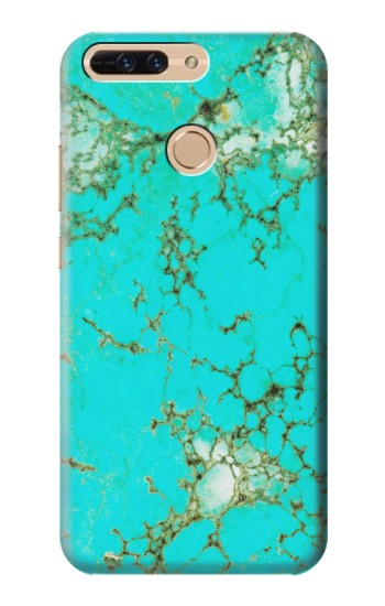 Printed Turquoise Gemstone Texture Graphic Printed Huawei Ascend MATE7 Case