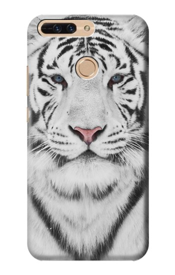 Printed White Tiger Huawei Ascend MATE7 Case