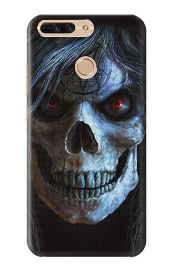 Printed Evil Death Skull Huawei Ascend MATE7 Case