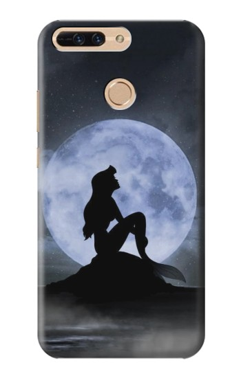 Printed Mermaid Moon Night Huawei Ascend MATE7 Case