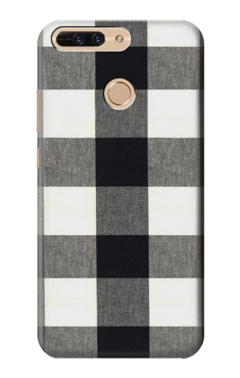Printed Black and White Buffalo Check Pattern Huawei Ascend MATE7 Case