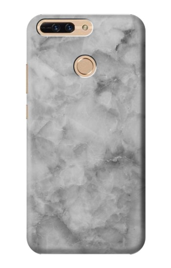 Printed Gray Marble Texture Huawei Ascend MATE7 Case