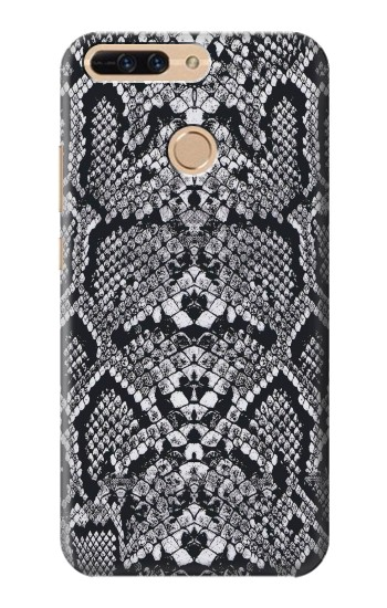 Printed White Rattle Snake Skin Huawei Ascend MATE7 Case