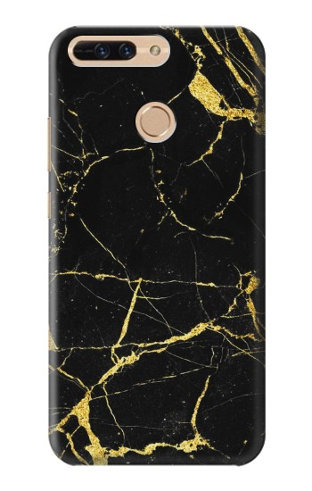 Printed Gold Marble Graphic Printed Huawei Ascend MATE7 Case