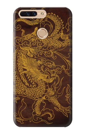 Printed Chinese Dragon Huawei Ascend MATE7 Case