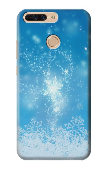 Printed Snow Spell Magic Huawei Ascend MATE7 Case
