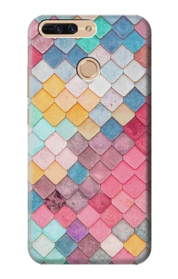 Printed Candy Minimal Pastel Colors Huawei Ascend MATE7 Case
