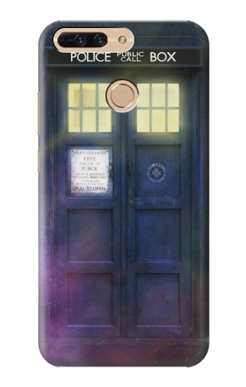 Printed Tardis Phone Box Huawei Ascend MATE7 Case