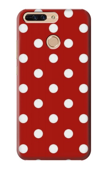 Printed Red Polka Dots Huawei Ascend MATE7 Case